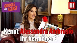 Alessandra Ambrosio answers the most googled questions