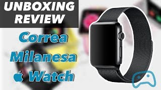 Unboxing Correa Milanesa Apple Watch en Español (MX) - 60fps