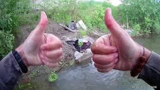 голавль на диповые крэнки на реке Днестр