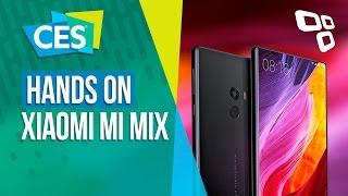 Alto desempenho, sem bordas: Xiaomi Mi Mix - CES 2017 - TecMundo