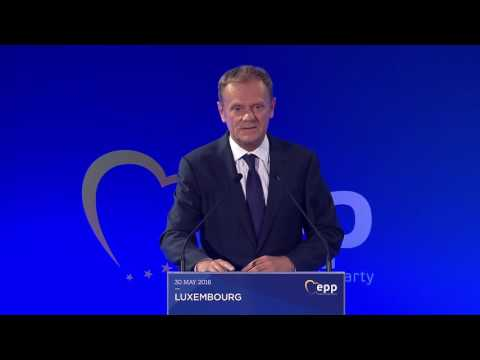 40 years of EPP - Donald Tusk, President of the European Council