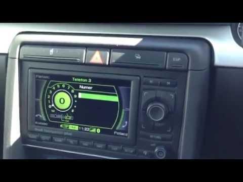Audi A4/S4/RS4 navigation RNS-E