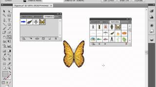 Библиотека символов в Adobe Illustrator CS4 (38/39)