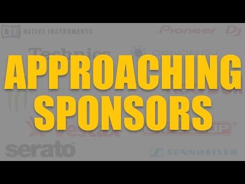 Approaching sponsors