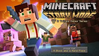 LIVESTREAM: Minecraft: Story Mode - Episode 4: A Block and a Hard Place [1080p HD]