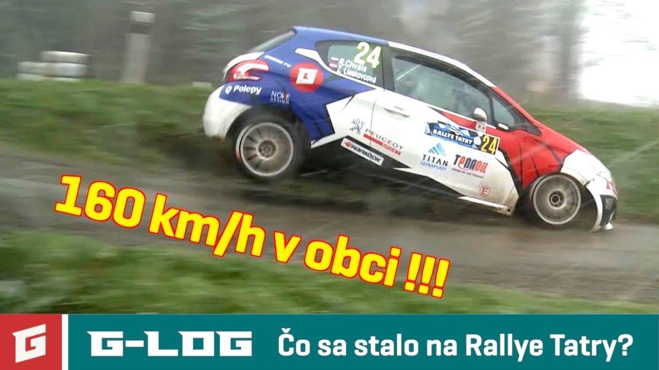 Glog #36 - Rallye Tatry 2019 a Peugeot 208 R2 - YouTube