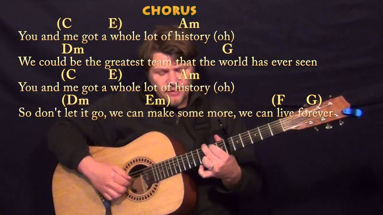 History One Direction Fingerstyle Guitar Cover Lesson With Chords