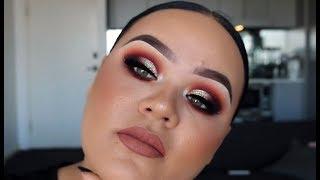 Smokey Sunset Cutcrease Makeup Tutorial
