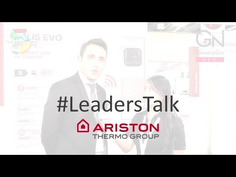 #LeadersTalk with Ariston Thermo's Marketing Manager, Alessandro Leonardo