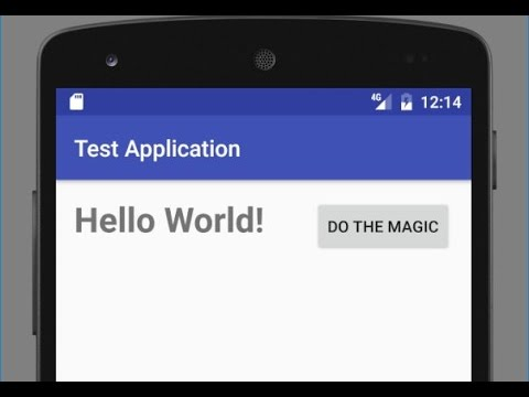Creating a Button: Android Programming
