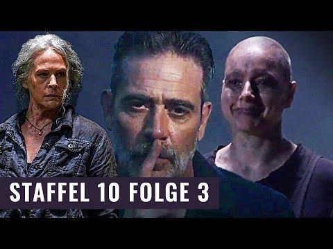 Carol Vs Alpha Und Negan Als Antiheld | The Walking Dead Staffel 10 Folge 3