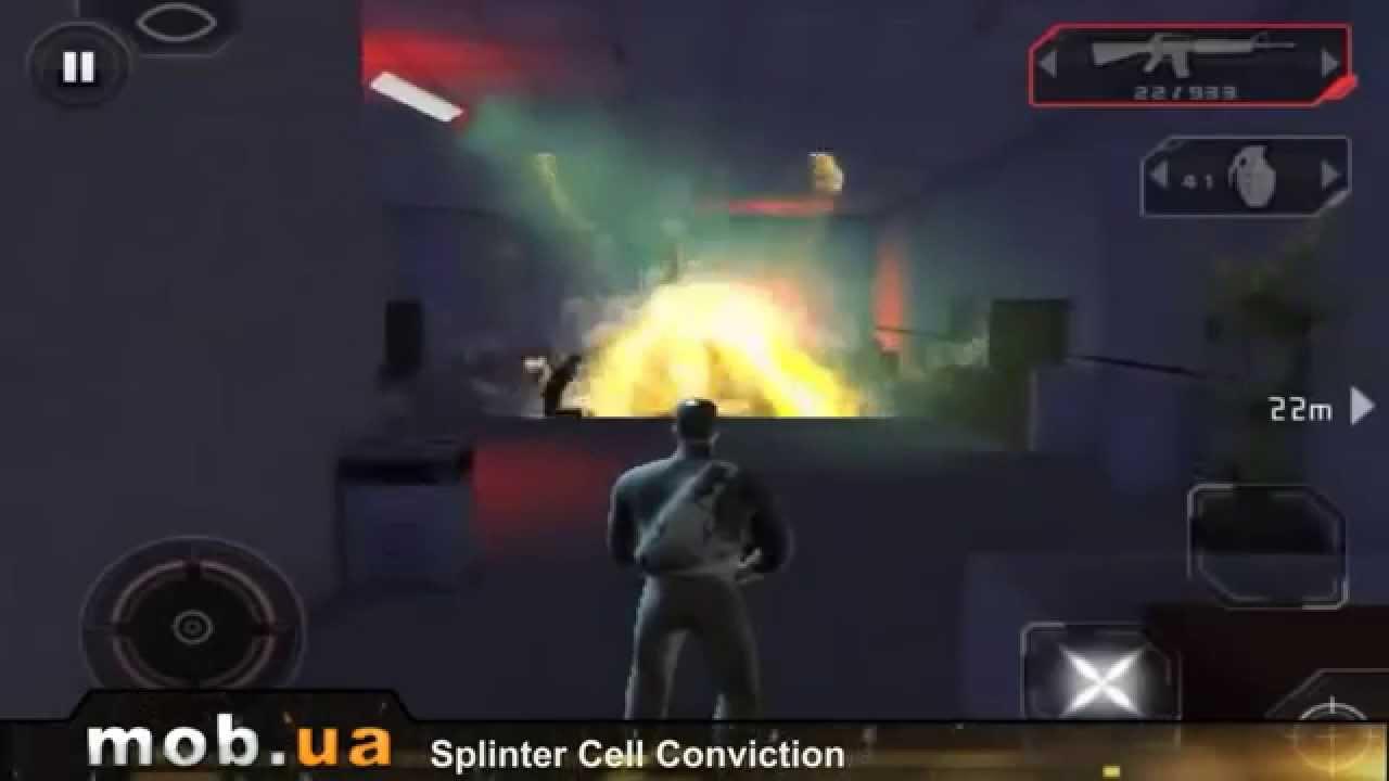 Splinter Cell Conviction u0434u043bu044f Android - mob.ua