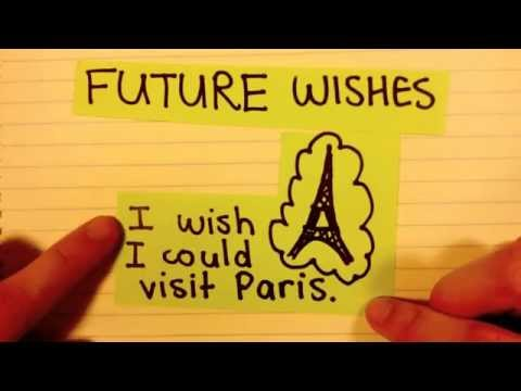 How to express wishes in English (past, present and future)