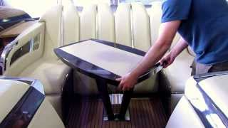 Yacht/boat Rotating Coffee Table