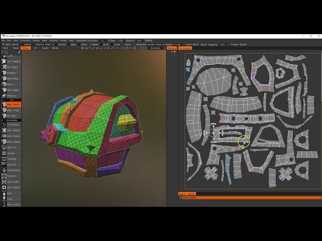 Retopology in 3DCoat Part 03