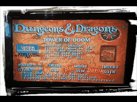 First look at !! Dungeons & Dragons (arcade game) |