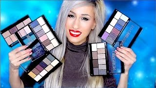 NEW! MAKEUP REVOLUTION I ♡ Makeup I ♡ Obsession palettes - ALL SHADES! | DYNA ❤