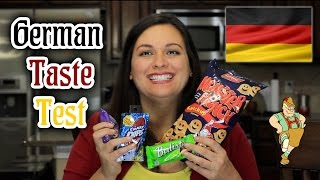 GERMAN FOOD TASTE TEST #1