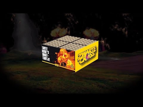 Tante Rikie's Kruittuintje - Zwarte Cross - Lesli Vuurwerk - 01701