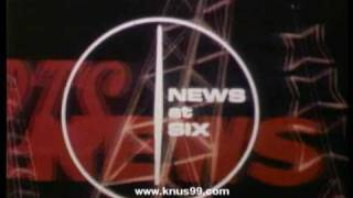 WBAP KXAS TV News at Six opening theme 1969