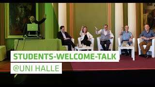 Students-Welcome-Talk 2018 | Uni Halle