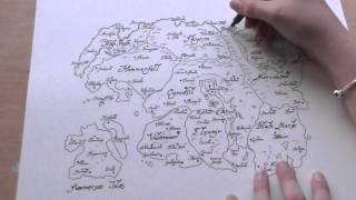 The Elder Scrolls: Map Of Tamriel Time Lapse