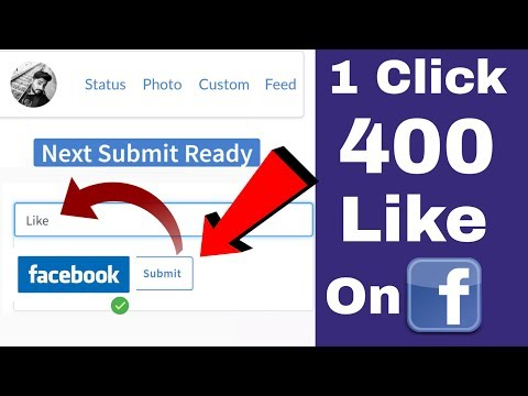 1 Click 400 Like On Facebook Photo | How To Increase Facebook Likes 2019 | Fb Liker 2019
