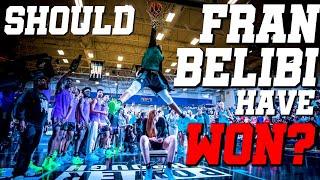 SHOULD FRAN BELIBI HAVE WON THE POWERADE JAM FEST 2019 DUNK CONTEST!?! Video