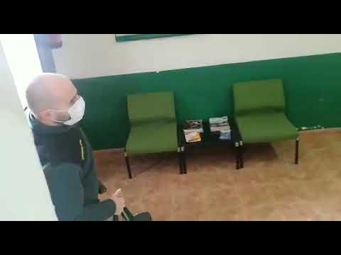 Bienvenida a un guardia civil en San Esteban de Gormaz