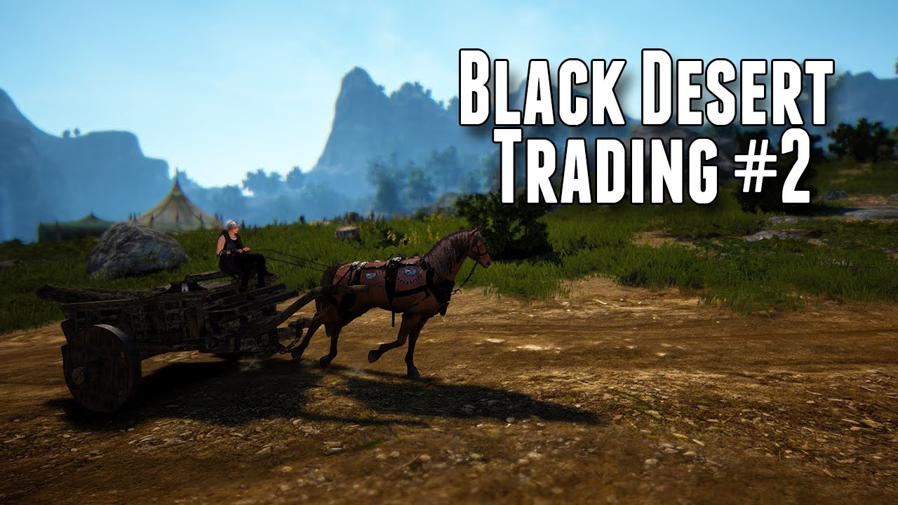 Black Desert - Trading #2 Wagon - YouTube