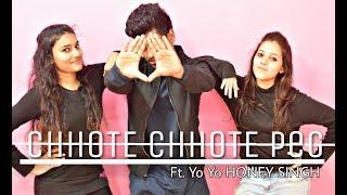 Chhote Chhote peg song Ft - Yo Yo HONEY SINGH || Dance Video || Choreography SAGAR GUPTA