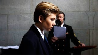 Amerikan Başkanı Donald Trump Oğlu  Barron Trump  Bunları Yapmak Zorunda.. İnanamayacaksınız
