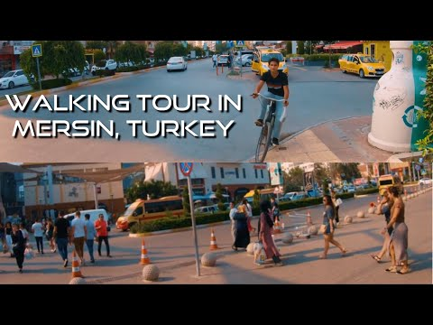 Trip Turkey 2019 | 🚶Walking Tour in Mersin | Turkey 2019