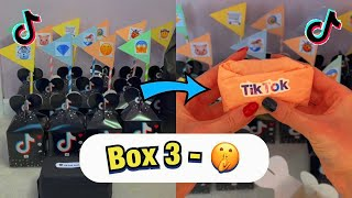 TikTok Mystery Boxes - BOX 3!🤫 *asmr* #Shorts