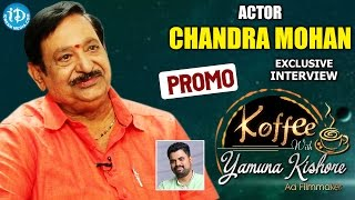 Actor Chandra Mohan Exclusive Interview PROMO    Koffee With Yamuna Kishore #13