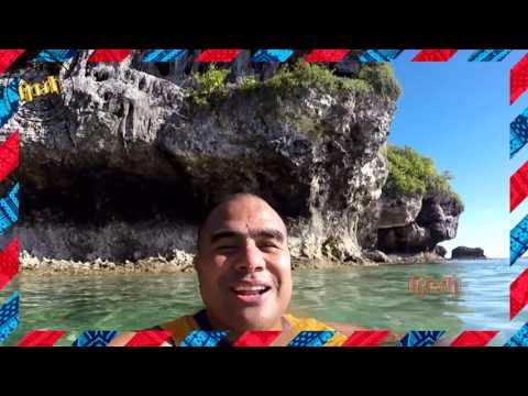 Glen Jackson in Niue Poly Postcard