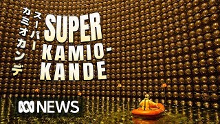 The giant science experiment hunting for the 'ghost particle', neutrinos | ABC News