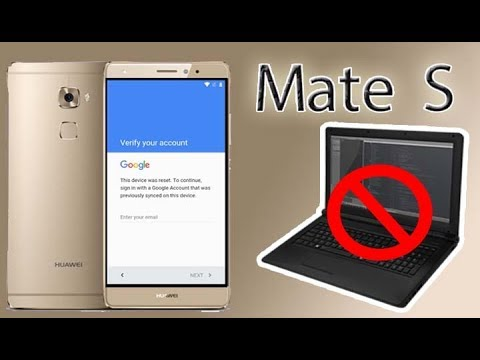 Remove Google Account Huawei Mate S BYPASS FRP Huawei CRR L09