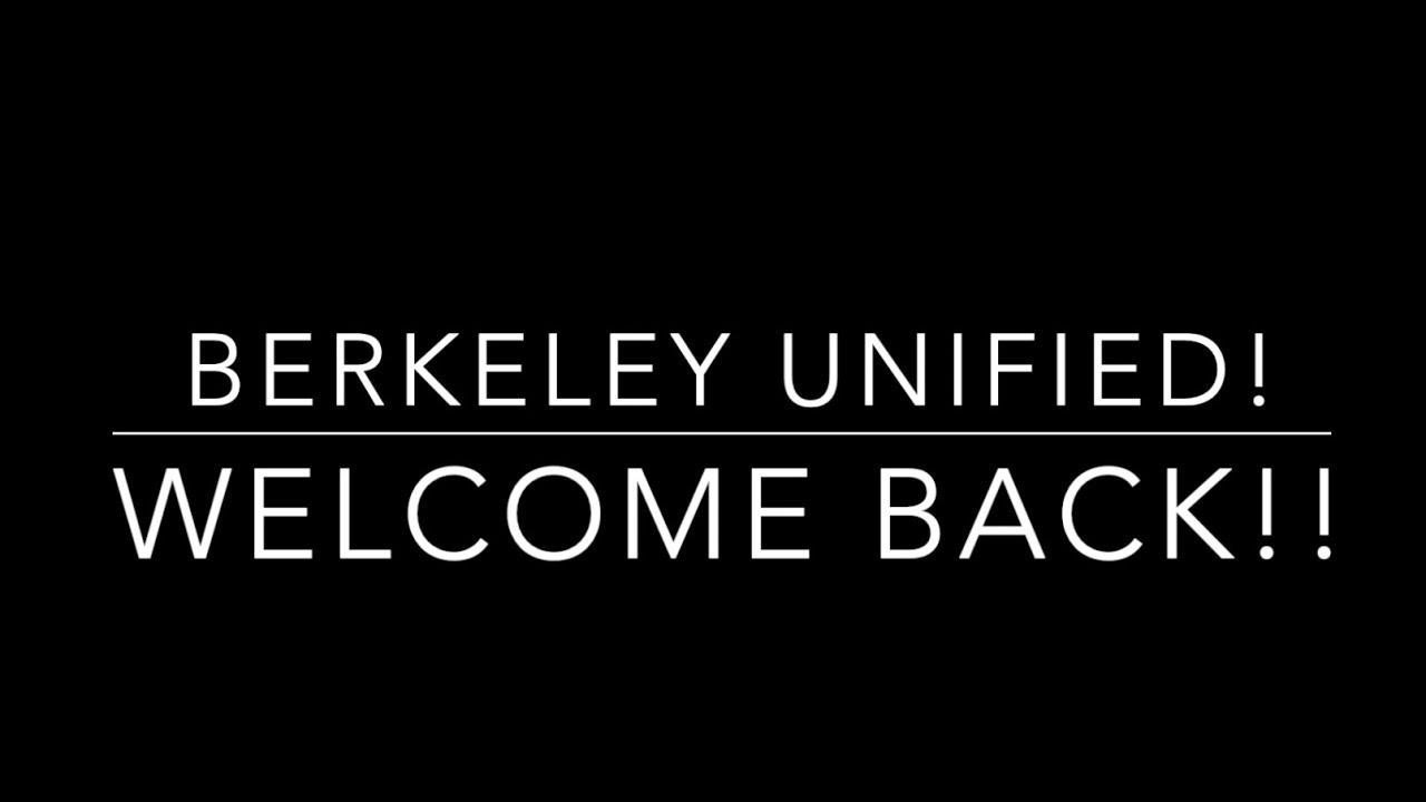 Welcome to Berkeley Unified School District