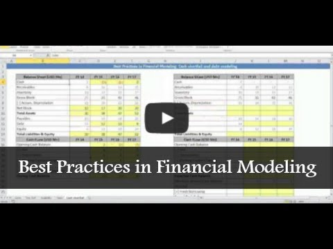 #Financial Modeling: Best Practices in Financial Modeling | The Financial Modelers
