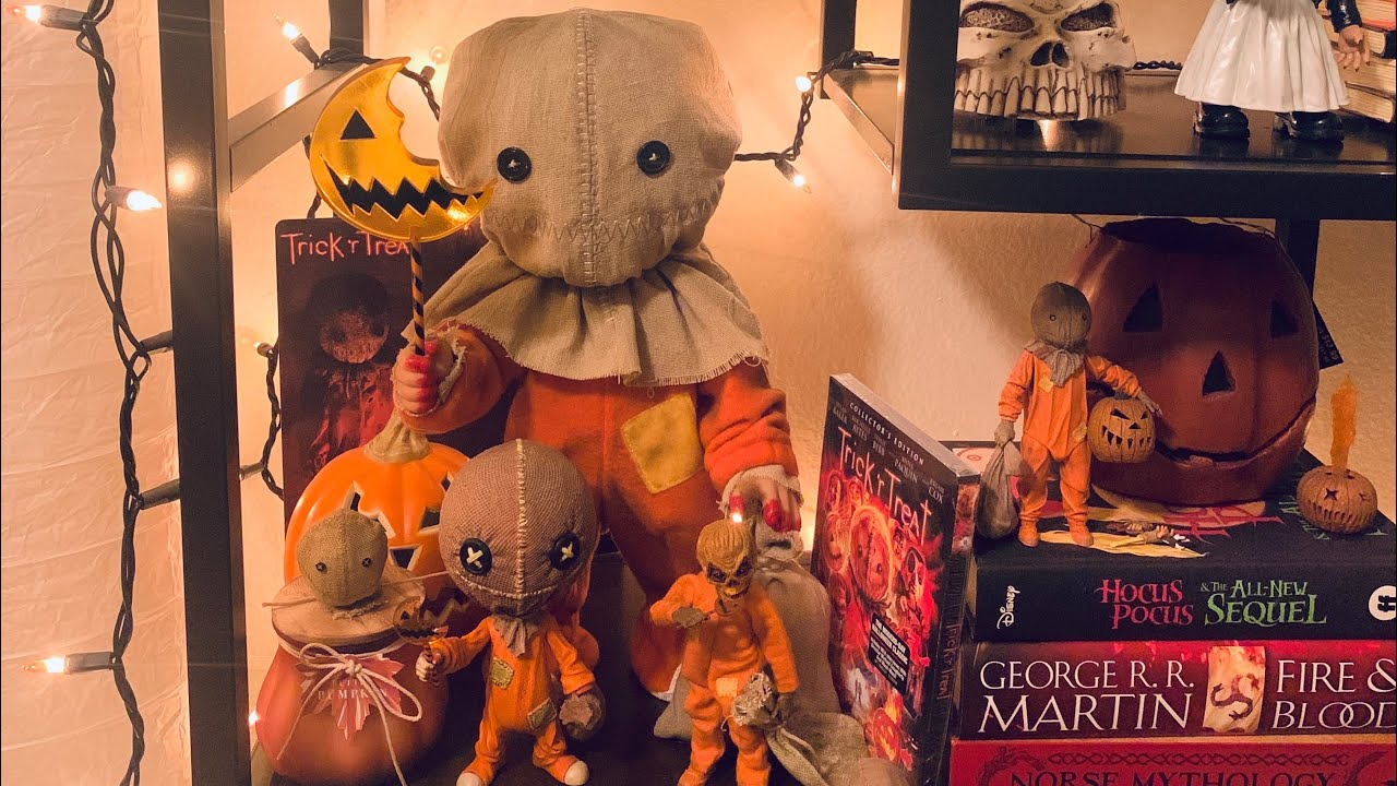 Trick r treat Sam collections! - YouTube