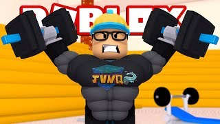 FRACOTES DA ACADEMIA l ROBLOX (Weight Lifting Simulator 2)