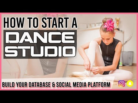 How to Start a Dance Studio- Building Your Database & Start