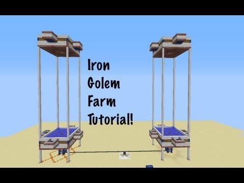Fully-Automatic Iron Golem Farm