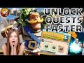 Tip to Unlock Quest Chests Faster! + Draft Chest, Maxing Cards, Gold Rush Results & Chest Preview