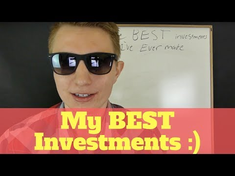 The Best Investments I've Ever Made!