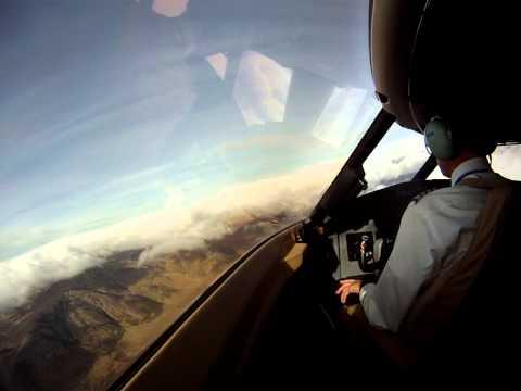 Arrival into Constantine, Algeria (DABC), Challenger 604