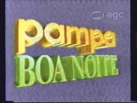 Chamada pampa Boa Noite e vinhetas da Rede Pampa - 1993