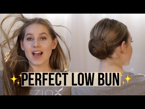 HOW TO - Perfect A Low Ballet Bun | DAY 7 | Talia