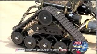 Sullivan Foods - Action Track Wheelchair for Veteran